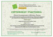 Сертификат об окончании мета-курса Скоморохова Ольга-1